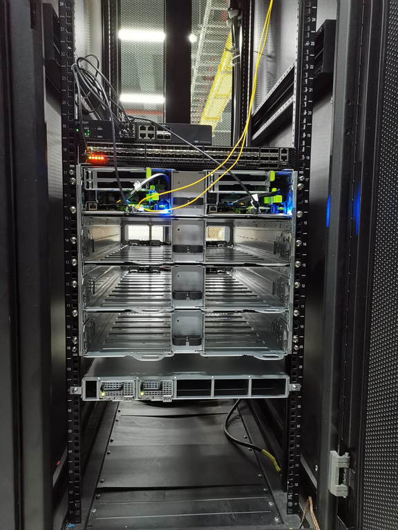 OCP installation Photo Frontside Internet Connection
